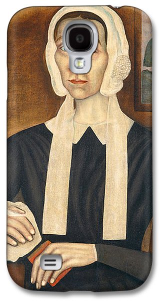 Portrait Of A Woman, C. 1845 Oil On Canvas Galaxy S4 Case by Thomas Skynner