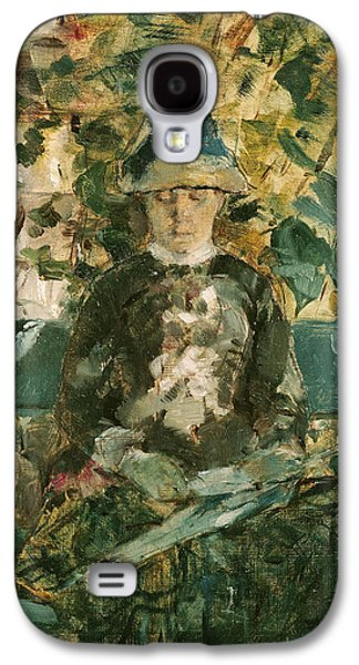 Sit-ins Galaxy S4 Cases - Portrait of Adele Tapie de Celeyran Galaxy S4 Case by Henri de Toulouse-Lautrec