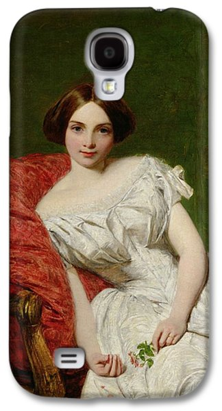 Portrait Of Annie Gambart Galaxy S4 Case by William Powell Frith
