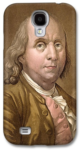 Portrait Of Benjamin Franklin Galaxy S4 Case by Gallo Gallina