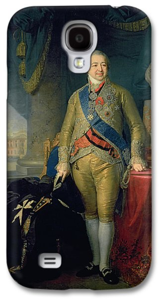 Personalities Photographs Galaxy S4 Cases - Portrait Of Count Alexander Kurakin 1757-1825, 1802 Oil In Canvas Galaxy S4 Case by Vladimir Lukich Borovikovsky