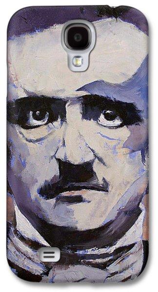 Edgar Allan Poe Galaxy S4 Case by Michael Creese