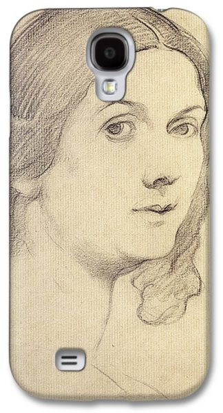Portraits Pastels Galaxy S4 Cases - Portrait of Isadora Duncan Galaxy S4 Case by Leon Bakst