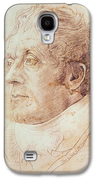 British Portraits Galaxy S4 Cases - Portrait of JMW Turner Galaxy S4 Case by Cornelius Varley