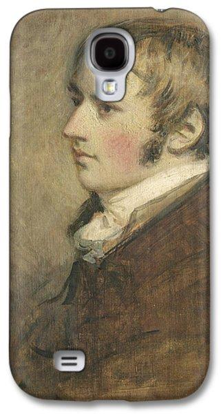 Sideburns Galaxy S4 Cases - Portrait Of John Constable Aged Twenty Galaxy S4 Case by Daniel Gardner