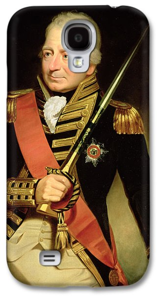 Three Quarter Length Galaxy S4 Cases - Portrait Of John Jervis First Earl Galaxy S4 Case by Sir William Beechey