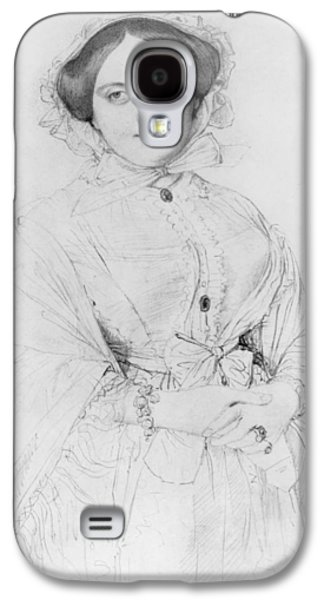 Three Quarter Length Galaxy S4 Cases - Portrait of Madame Ingres Galaxy S4 Case by Jean Auguste Ingres