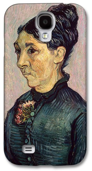 Sombre Galaxy S4 Cases - Portrait of Madame Jeanne Lafuye Trabuc Galaxy S4 Case by Vincent Van Gogh