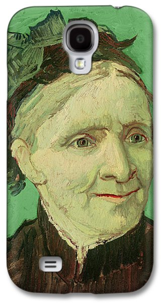 Mums Paintings Galaxy S4 Cases - Portrait of the Artists Mother Galaxy S4 Case by Vincent van Gogh