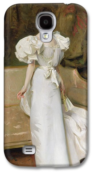 Youthful Paintings Galaxy S4 Cases - Portrait of the Countess of Clary Aldringen Galaxy S4 Case by John Singer Sargent