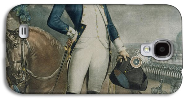 Groom Galaxy S4 Cases - Portrait of the Marquis de La Fayette Galaxy S4 Case by Philibert-Louis Debucourt