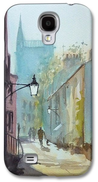 Cambridge Paintings Galaxy S4 Cases - Portugal Place Galaxy S4 Case by Henry Jones