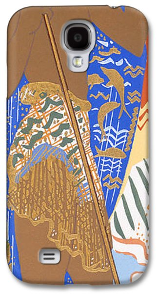 Ancient Galaxy S4 Cases - Poseidon Galaxy S4 Case by Francois-Louis Schmied