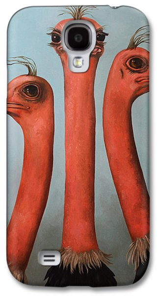 Posers 2 Galaxy S4 Case by Leah Saulnier The Painting Maniac