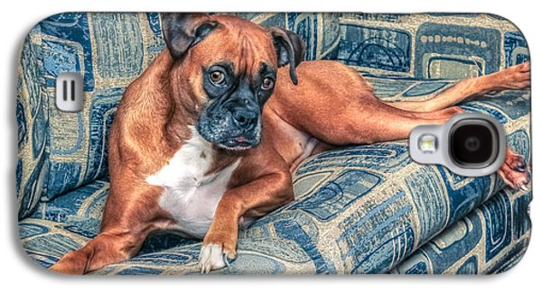 Posing Boxer Galaxy S4 Case by Rob Sellers