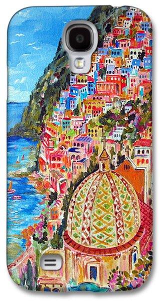 Positano Pearl Of The Amalfi Coast Galaxy S4 Case by Roberto Gagliardi