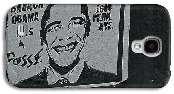 Barack Obama Galaxy S4 Cases - Posse  Galaxy S4 Case by Scott Collin