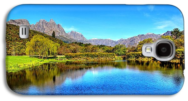 Stellenbosch Galaxy S4 Cases - Postcard Cafe Galaxy S4 Case by Chris Whittle