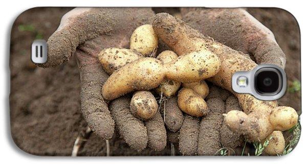 Potato Harvest Galaxy S4 Case by Jim West