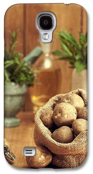 Potatoes Galaxy S4 Case by Amanda Elwell