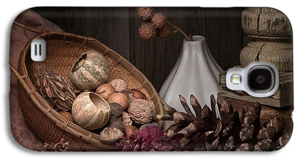 Earth Tones Photographs Galaxy S4 Cases - Potpourri Still Life Galaxy S4 Case by Tom Mc Nemar