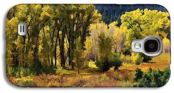 Poudre Galaxy S4 Cases - Poudre Autumn Galaxy S4 Case by Jon Burch Photography