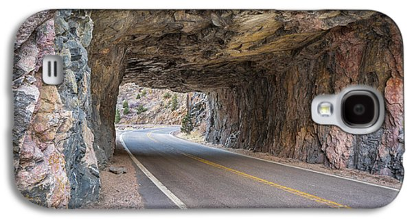 Fort Collins Galaxy S4 Cases - Poudre Canyon tunnel Galaxy S4 Case by Marek Uliasz