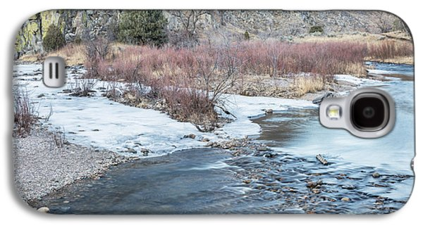 Fort Collins Galaxy S4 Cases - Poudre River in winter Galaxy S4 Case by Marek Uliasz