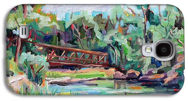 Poudre Galaxy S4 Cases - Poudre River Passage   plein air Galaxy S4 Case by Marie Massey