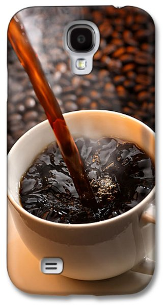 Pour Photographs Galaxy S4 Cases - Pouring Coffee Galaxy S4 Case by Johan Swanepoel