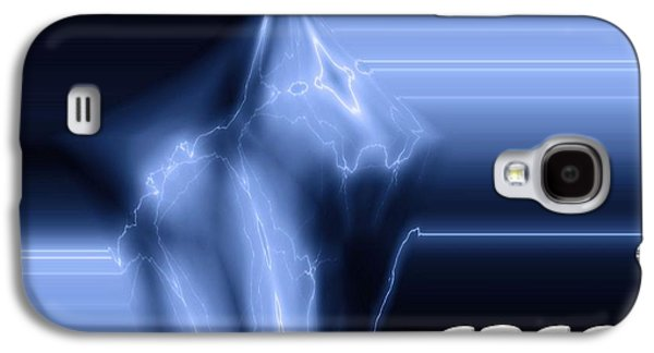 Nba Mixed Media Galaxy S4 Cases - Power And Speed Galaxy S4 Case by Dan Sproul