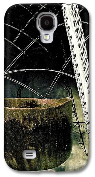 Avant Garde Mixed Media Galaxy S4 Cases - Power Lines Galaxy S4 Case by Sarah Loft