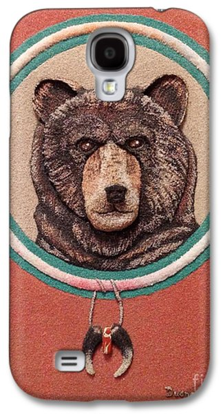 Native Reliefs Galaxy S4 Cases - Power of Insight - Amonsoquath Galaxy S4 Case by Duane West