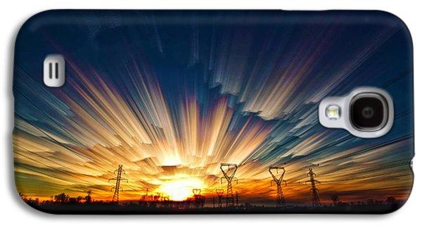Merging Galaxy S4 Cases - Power Source Galaxy S4 Case by Matt Molloy