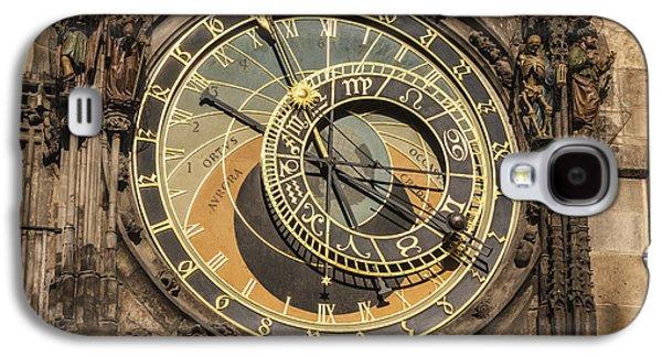 Mechanism Galaxy S4 Cases - Prague Astronomical Clock Galaxy S4 Case by Joan Carroll
