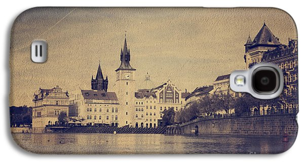 Cities Pyrography Galaxy S4 Cases - Prague Galaxy S4 Case by Jelena Jovanovic