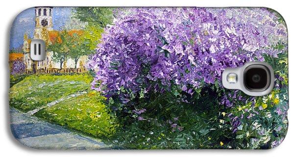 Sun Galaxy S4 Cases - Prague Spring Loreta Lilacs Galaxy S4 Case by Yuriy Shevchuk