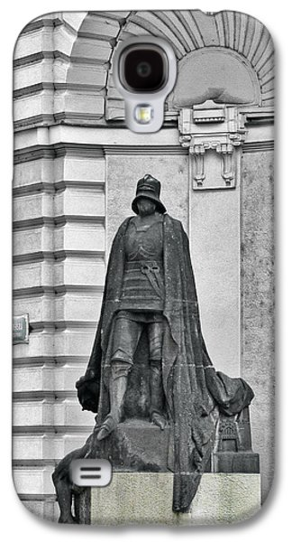 Prague - The Iron Man From A Long Time Ago And A Country Far Far Away Galaxy S4 Case by Christine Till