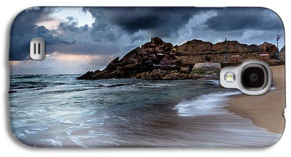 Edgar Laureano Photographs Galaxy S4 Cases - Praia Formosa Galaxy S4 Case by Edgar Laureano