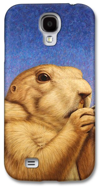 Furry Galaxy S4 Cases - Prairie Dog Galaxy S4 Case by James W Johnson
