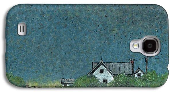 Prairie Galaxy S4 Cases - Prairie Homestead Galaxy S4 Case by John Wyckoff