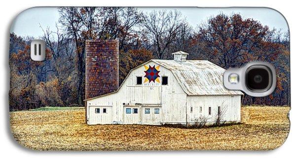 Prairie Queen Quilt Barn Galaxy S4 Case by Cricket Hackmann
