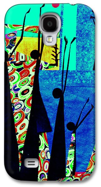 People Tapestries - Textiles Galaxy S4 Cases - Praise for Everything Galaxy S4 Case by Ruth Yvonne Ash