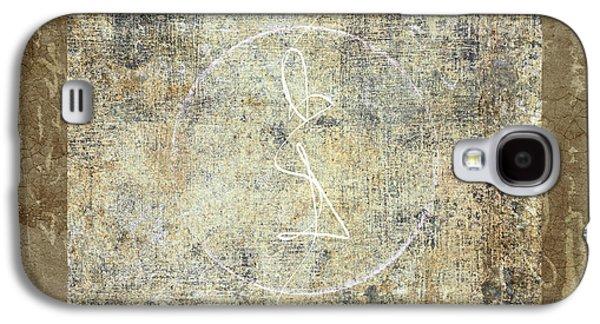 Sacred-wisdom Galaxy S4 Cases - Prayer Flag 203 Galaxy S4 Case by Carol Leigh