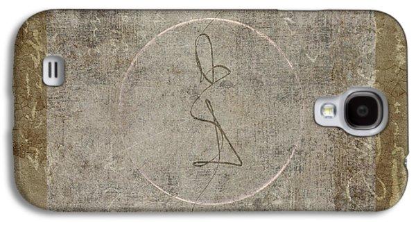 Sacred-wisdom Galaxy S4 Cases - Prayer Flag 204 Galaxy S4 Case by Carol Leigh