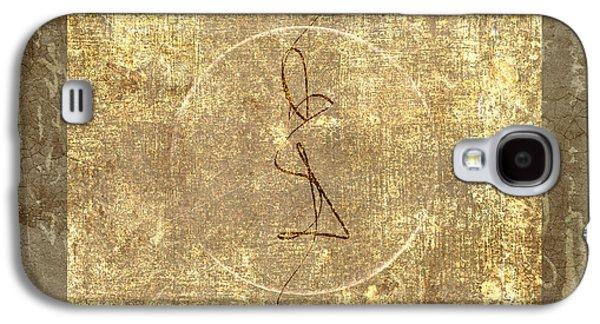 Sacred-wisdom Galaxy S4 Cases - Prayer Flag 206 Galaxy S4 Case by Carol Leigh