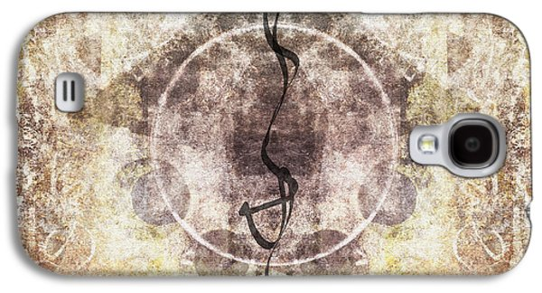 Sacred-wisdom Galaxy S4 Cases - Prayer Flag 26 Galaxy S4 Case by Carol Leigh