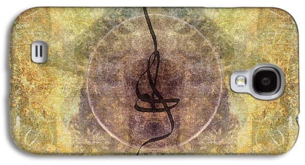 Sacred-wisdom Galaxy S4 Cases - Prayer Flag 28 Galaxy S4 Case by Carol Leigh