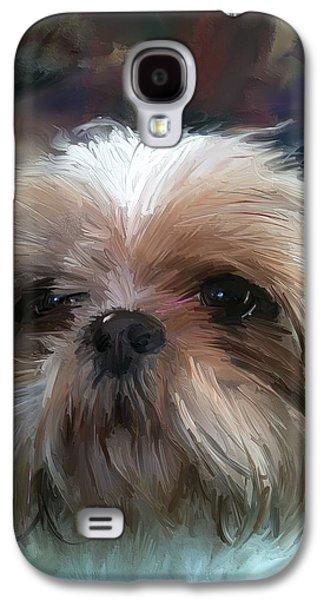 Puppy Digital Galaxy S4 Cases - Prayer Galaxy S4 Case by Richard Okun