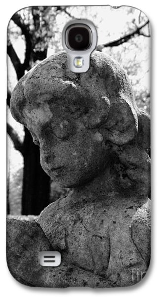 Usa Sculptures Galaxy S4 Cases - Praying Girl On Cold Winters Day Galaxy S4 Case by Nathan Little
